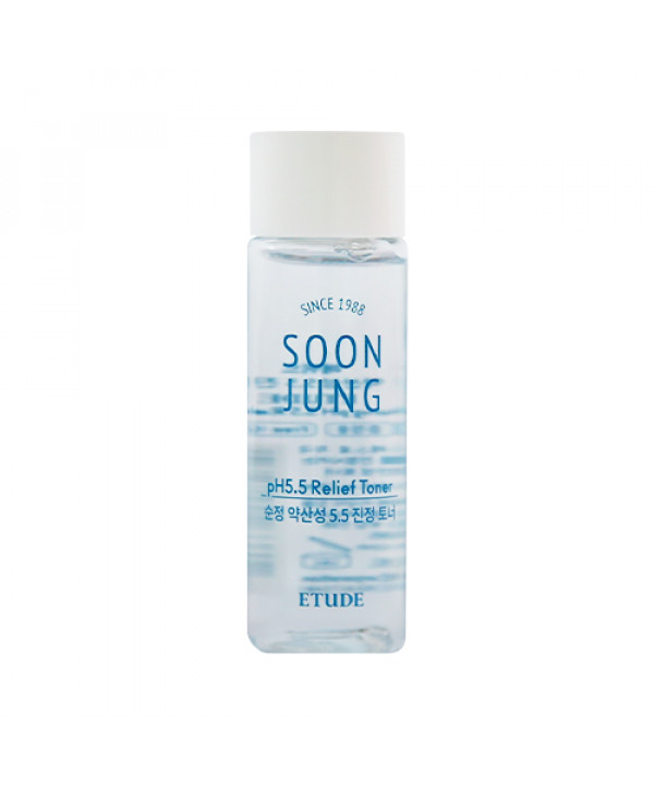 [ETUDE HOUSE_Sample] Soon Jung pH 5.5 Relief Toner Sample - 25ml