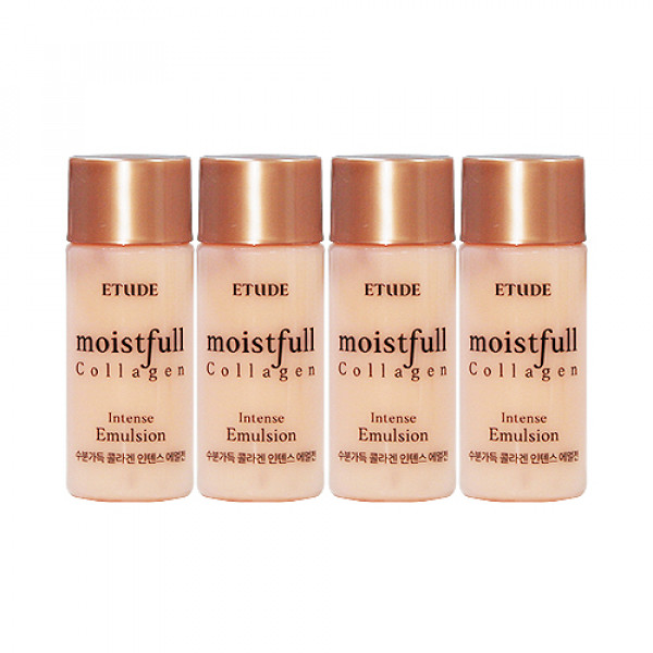 [ETUDE HOUSE_Sample] Moistfull Collagen Intense Emulsion Samples - 15ml x 4ea