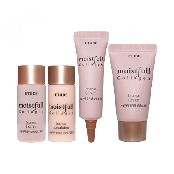 [ETUDE HOUSE_Sample] Moistfull Collagen Intense Skin Care Kit Samples - 1pack (4items)