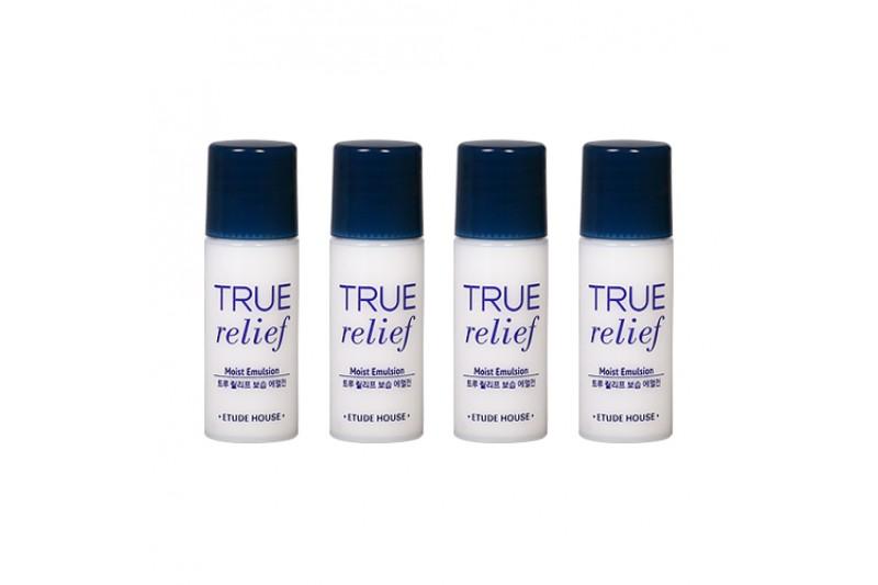 [ETUDE HOUSE_Sample] True Relief Moist Emulsion Samples - 5ml x 4ea