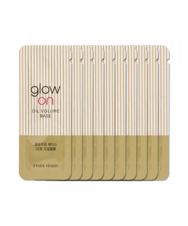 [ETUDE HOUSE_Sample] Glow On Base Samples - 10pcs No.02 Oil Volume