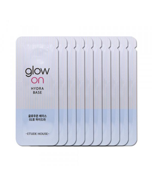 [ETUDE HOUSE_Sample] Glow On Base Samples - 10pcs No.01 Hydra