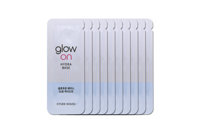 [ETUDE HOUSE_Sample] Glow On Base Samples - 10pcs No.01 Hydra
