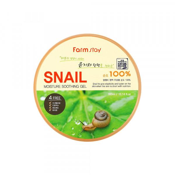 [FARM STAY] Moisture Soothing Gel Snail - 300ml