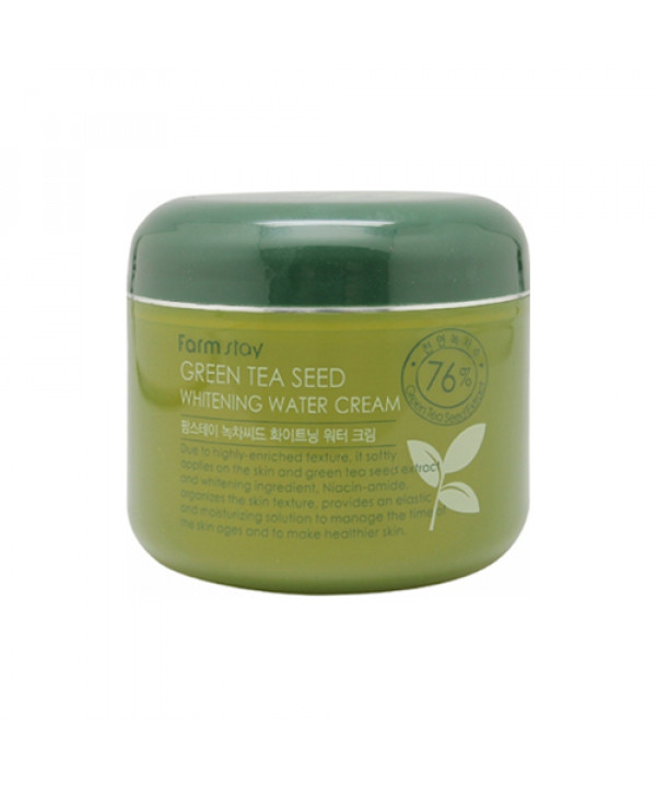 [FARM STAY] Green Tea Seed Whitening Water Cream - 100g