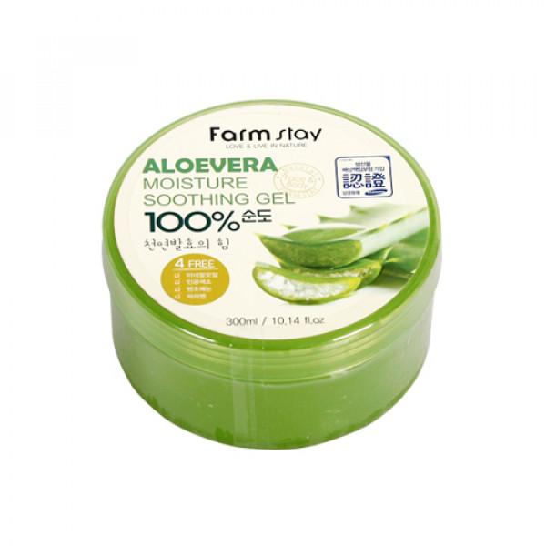 [FARM STAY] Aloevera Moisture Soothing Gel - 300ml