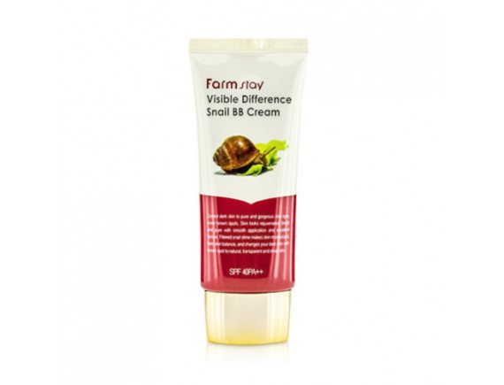 [FARM STAY] Visible Difference Snail BB Cream - 50g (SPF40 PA++)