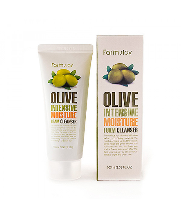 [FARM STAY] Olive Intensive Moisture Foam Cleanser - 100ml