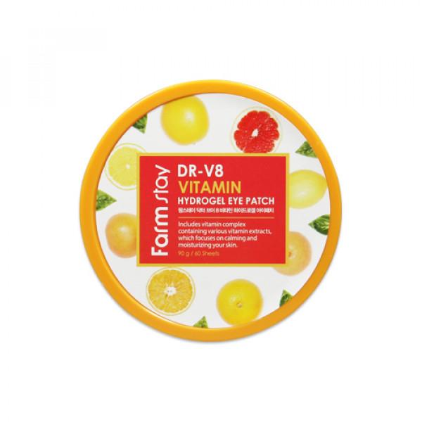 [FARM STAY] Dr V8 Vitamin Hydrogel Eye Patch - 1pack (60pcs)