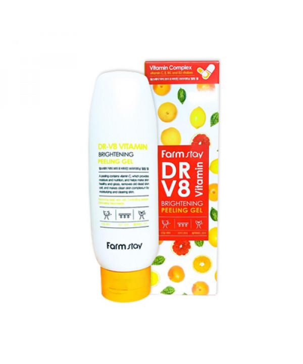 [FARM STAY] Dr.V8 Vitamin Brightening Peeling Gel - 150ml