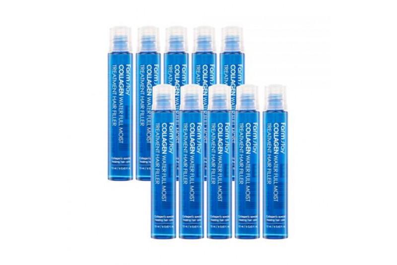 [FARM STAY] Collagn Water MoistTreatment Hair Filler - 1pack (13ml x 10pcs)