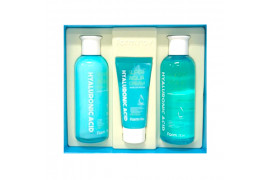 [FARM STAY] Hyaluronic Acid Super Aqua Skin Care 3 Set - 1pack (3items)