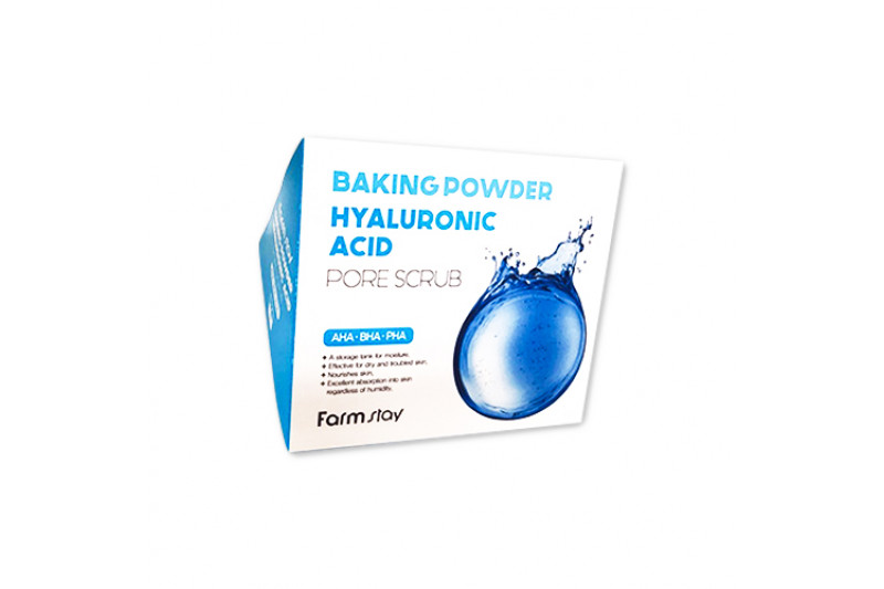 [FARM STAY] Baking Powder Hyaluronic Acid Pore Scrub - 1pack (25pcs)