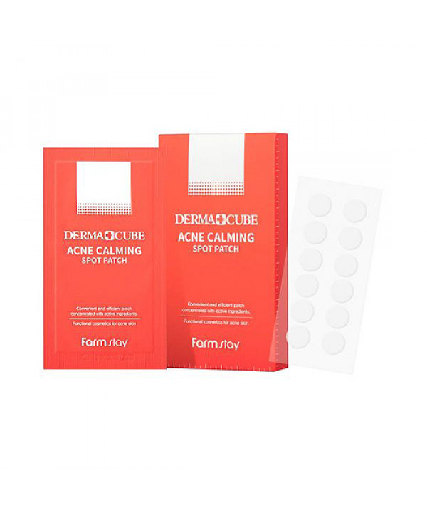 [FARM STAY] Derma Cube Acne Calming Spot Patch - 1pack (120pcs)