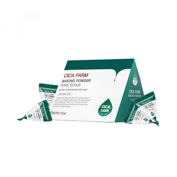 [FARM STAY] Cica Farm Baking Powder Pore Scrub - 1pack (25pcs)
