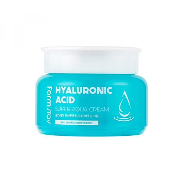 [FARM STAY] Hyaluronic Acid Super Aqua Cream - 100ml