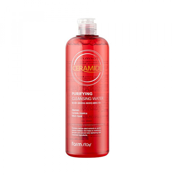 [FARM STAY] Ceramide Purifying Cleansing Water - 500ml