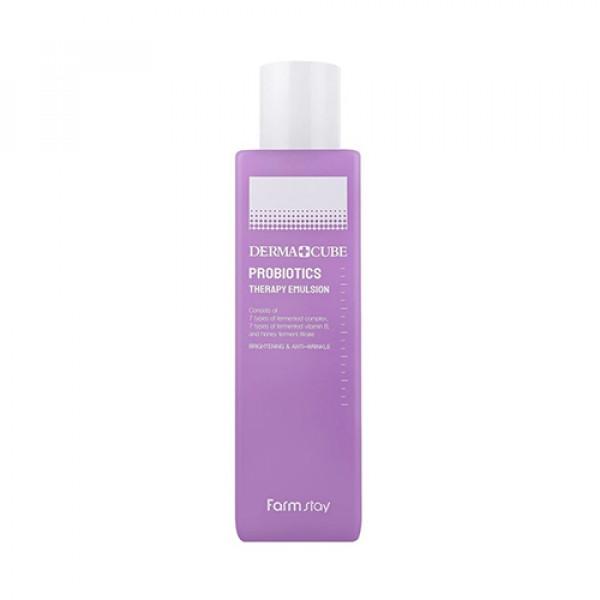 [FARM STAY] Derma Cube Probiotics Therapy Emulsion  - 200ml