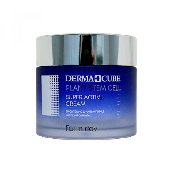 [FARM STAY] Derma Cube Plant Stem Cell Super Active Cream - 80ml