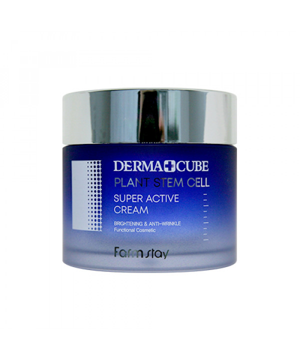 [FARM STAY] Derma Cube Plant Stem Cell Super Active Cream - 80ml