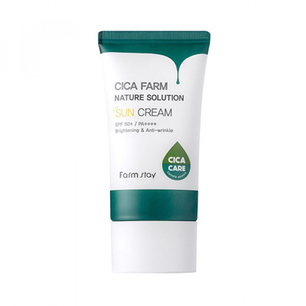 [FARM STAY] Cica Farm Nature Solution Sun Cream - 50g (SPF50+ PA++++)