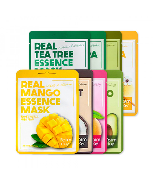 [FARM STAY] Real Essence Mask - 10pcs