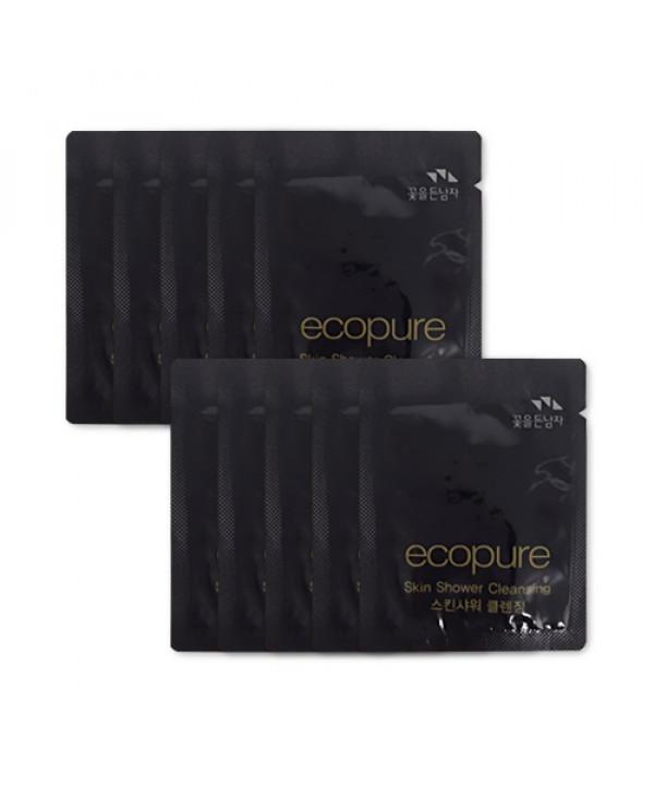 [Flor De Man_Sample] Ecopure Skin Shower Cleansing Samples - 10pcs