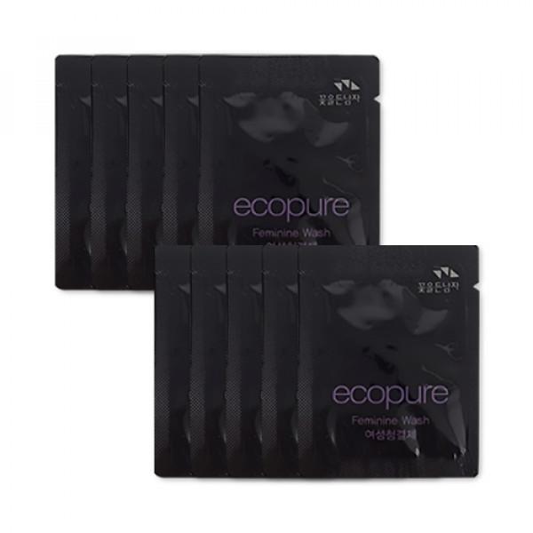 [Flor De Man_Sample] Ecopure Feminine Wash Samples - 10pcs