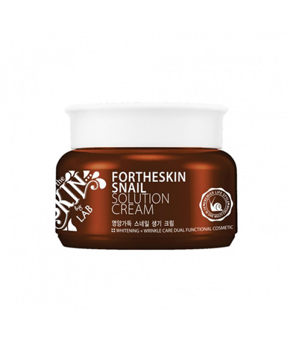 [FOR THE SKIN] Snail Solution Cream - 100ml