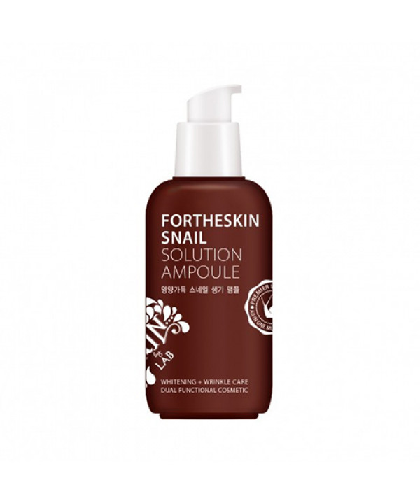 [FOR THE SKIN] Snail Solution Ampoule - 100ml