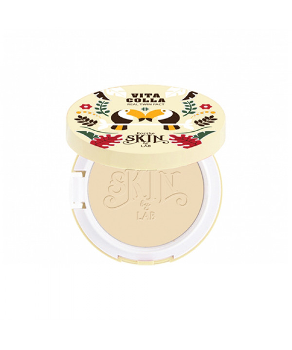 [FOR THE SKIN] Viita Colla Real Twin Pact - 10g (SPF25 PA++) (EXP 2021.08.21)