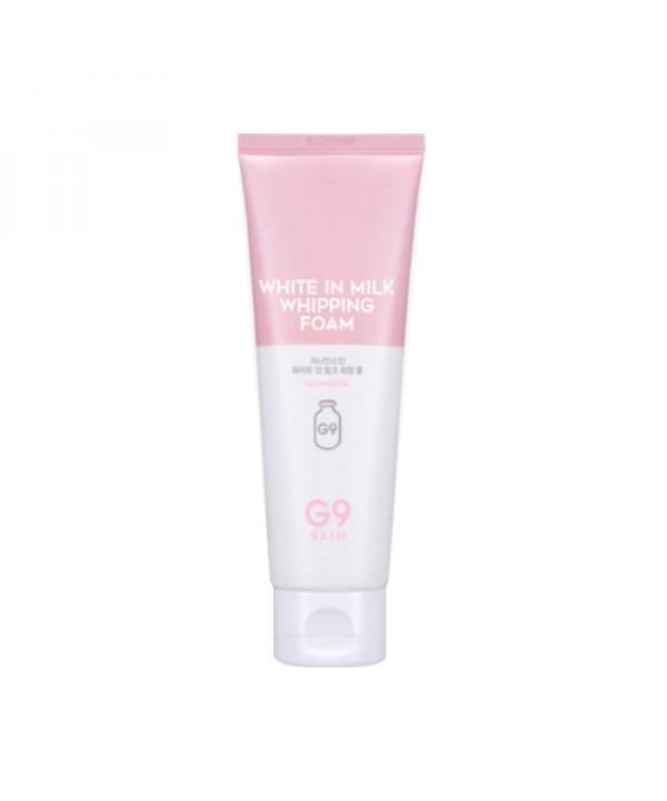 [G9SKIN] White In Milk Whipping Foam - 120ml