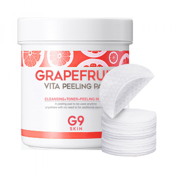 [G9SKIN] Grapefruit Vita Peeling Pad - 1pack (100pcs)