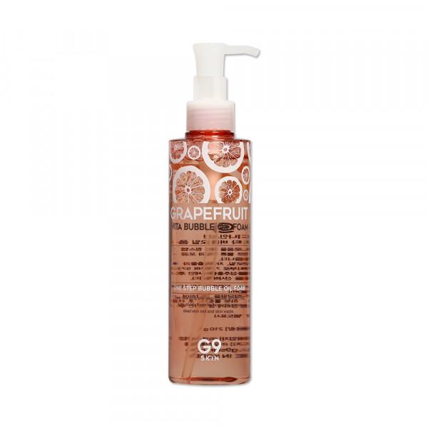 [G9SKIN] Grapefruit Vita Bubble Oil Foam - 210g