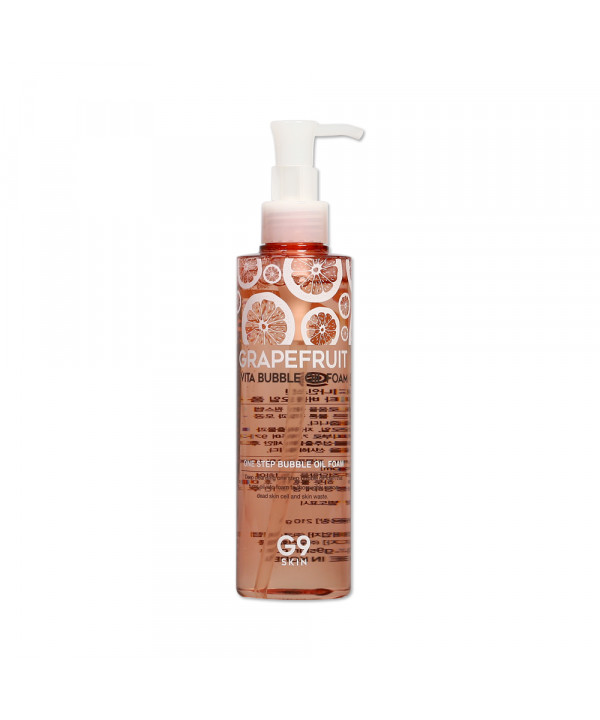 [G9SKIN] Grapefruit Vita Bubble Oil Foam - 210g