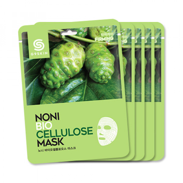 [G9SKIN] Noni Biocellulose Mask - 1pack (5pcs)