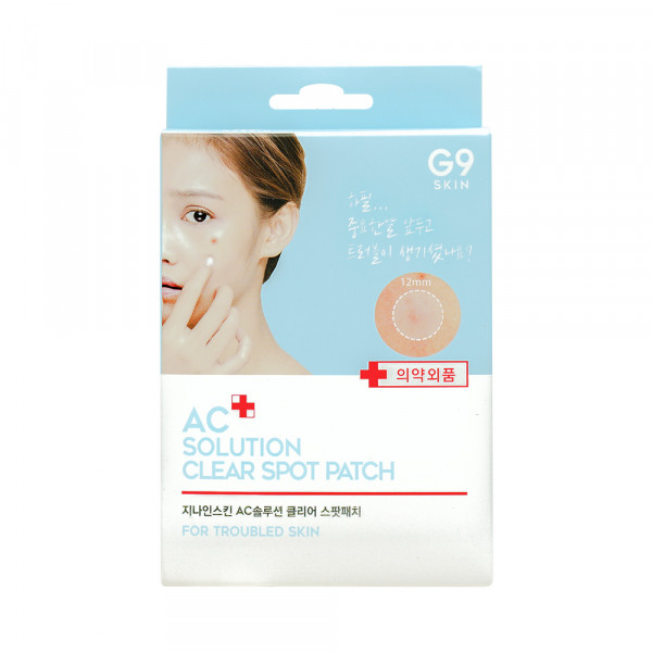 [G9SKIN] AC Solution Clear Spot Patch - 1pack (60pcs)