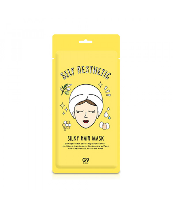 [G9SKIN] Self Aesthetic Silky Hair Mask - 1pcs