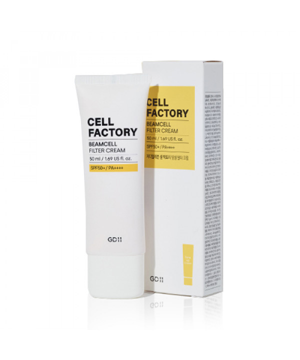 [GD11] Cell Factory Beamcell Filter Cream - 50ml (SPF50+ PA++++)