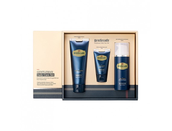 [Gentlecode] Gentleman Daily Care Set - 1pack (3items)