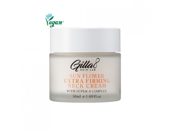 [GILLA8] Sunflower Extra Firming Neck Cream - 50ml