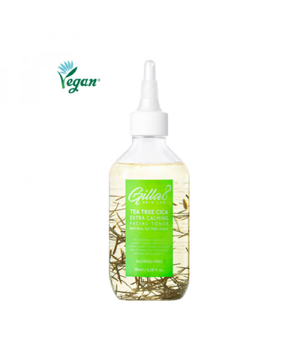 [GILLA8] Tea Tree Cica Extra Calming Facial Toner - 180ml