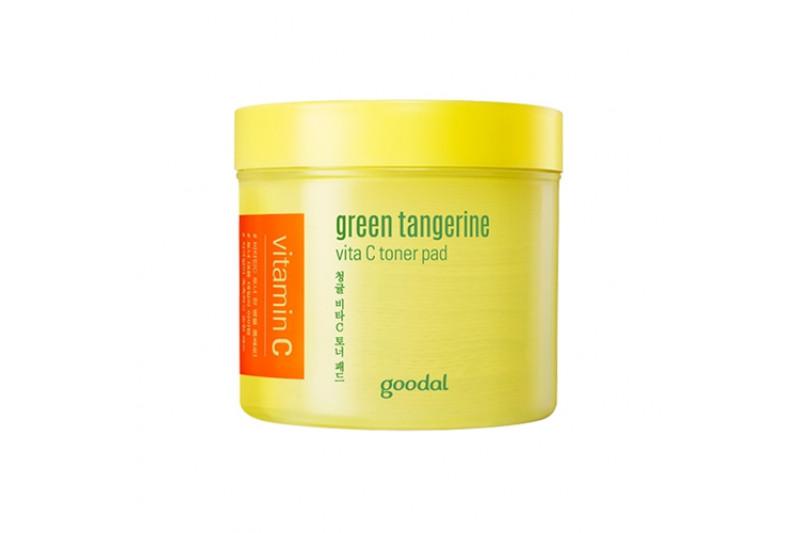 [GOODAL] Green Tangerine Vita C Toner Pad - 1pack (70pcs)