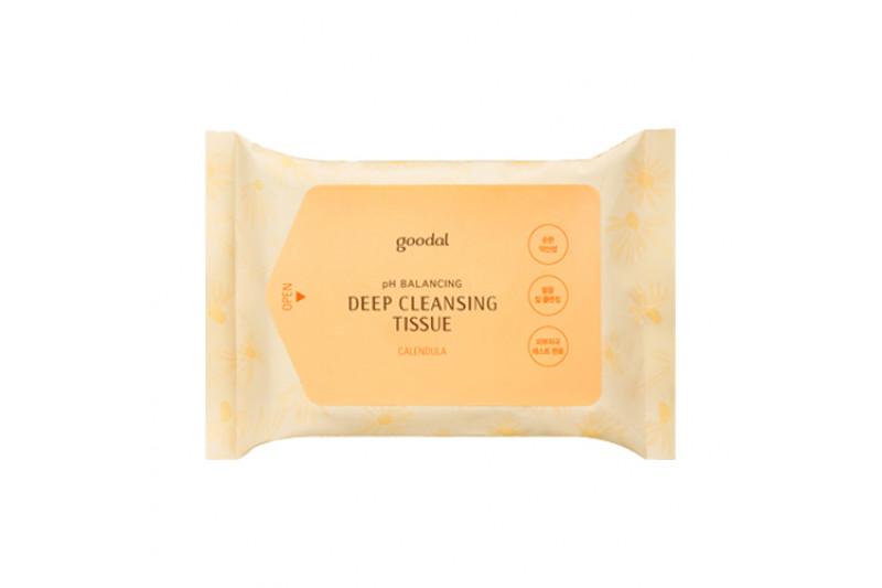 [GOODAL] Calendula pH Deep Cleansing Tissue - 1pack (20pcs)