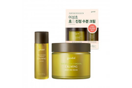 [GOODAL] Houttuynia Cordata Calming Moisture Cream Set - 1pack (2items)