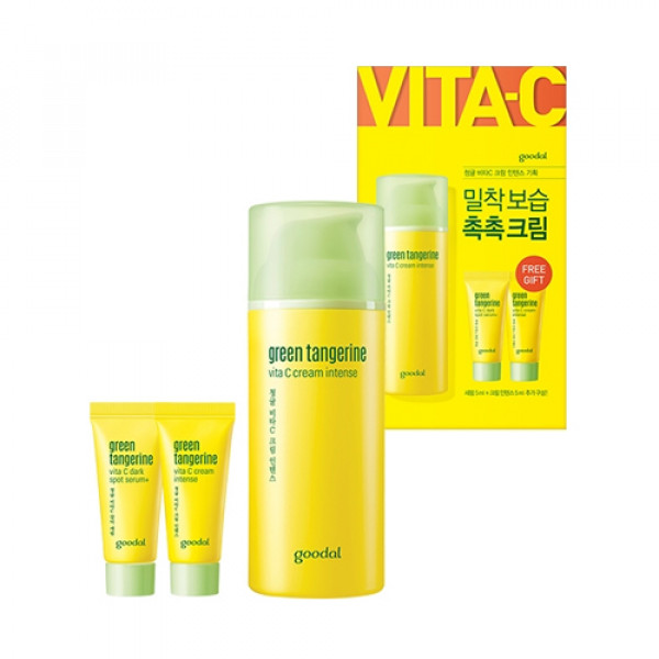 [GOODAL] Green Tangerine Vita C Cream Intense Set - 1pack (3itmes)