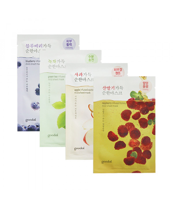 [GOODAL] Mild Sheet Mask - 1pcs