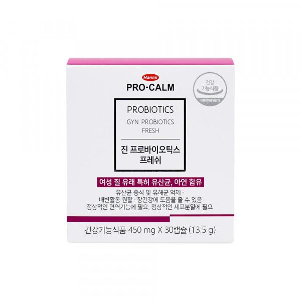 [HANMI] Pro Calm Gyn Probiotics For Women - 1pack (30pcs)