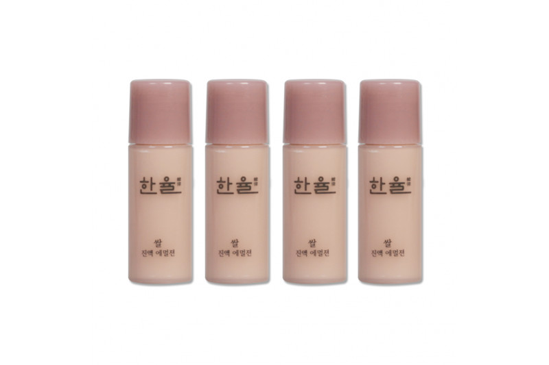 [HANYUL_Sample] Rice Essential Skin Emulsion Samples - 5ml x 4ea