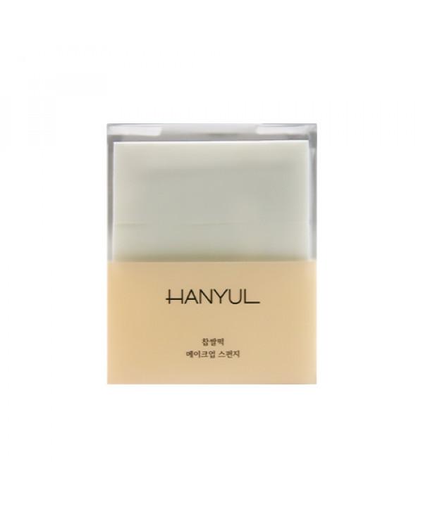 [HANYUL_Sample] Rice Cake Makeup Sponge Sample - 1pack (6pcs)
